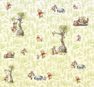 Komar Winnie Pooh Friends Vlies Fotobehang 300x280cm 6-banen | Yourdecoration.be