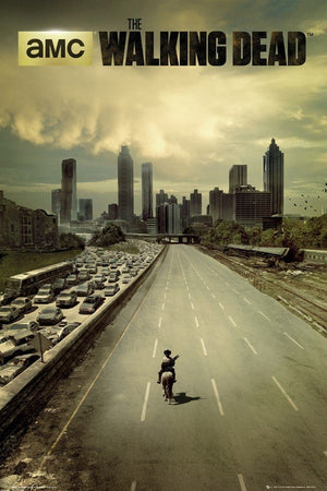 GBeye The Walking Dead City Poster 61x91,5cm | Yourdecoration.be