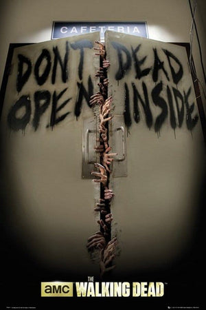 GBeye The Walking Dead Keep-out Poster 61x91,5cm | Yourdecoration.be