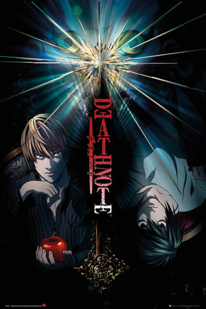 GBeye Death Note Duo Poster 61x91,5cm | Yourdecoration.be