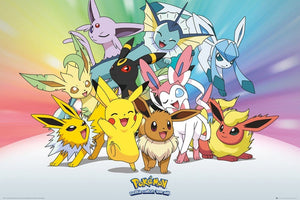 GBeye Pokemon Eevee Poster 61x91,5cm | Yourdecoration.be