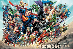 GBeye DC Universe Rebirth Poster 91,5x61cm | Yourdecoration.be