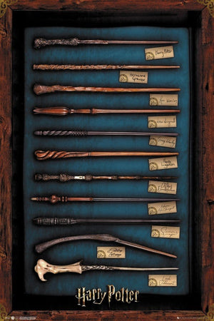 GBeye Harry Potter Wands Poster 61x91,5cm | Yourdecoration.be