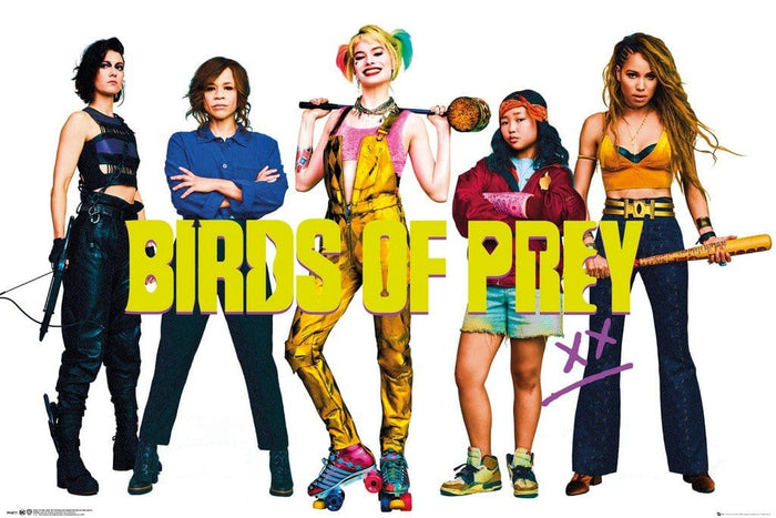 GBeye Birds of Prey Group Poster 91,5x61cm