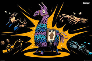 GBeye Fortnite Loot Llama Poster 91,5x61cm | Yourdecoration.be