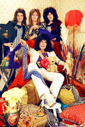 GBeye Queen Band Poster 61x91,5cm | Yourdecoration.be