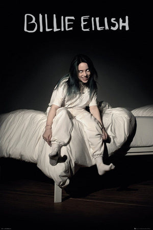GBeye Billie Eilish Bed Poster 61x91,5cm | Yourdecoration.be