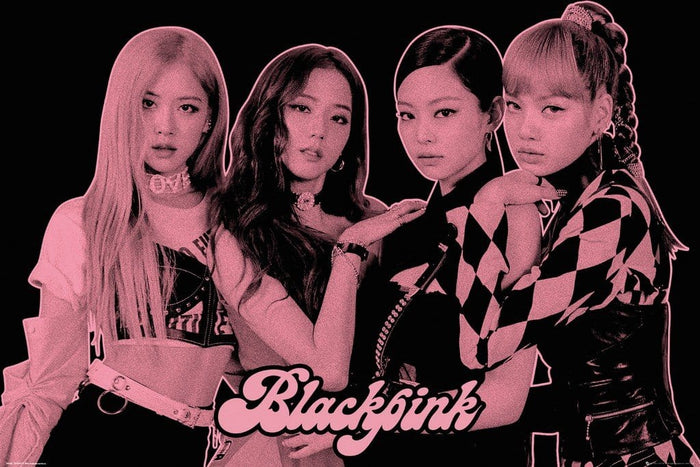 GBeye Black Pink Group Pink Poster 61x91,5cm
