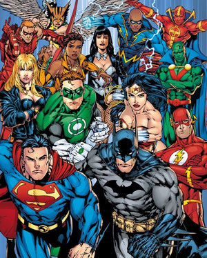GBeye DC Comics Justice League Collage Poster 40x50cm | Yourdecoration.be