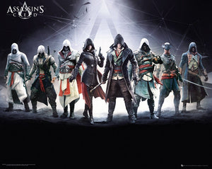 GBeye Assassins Creed Characters Poster 50x40cm | Yourdecoration.be