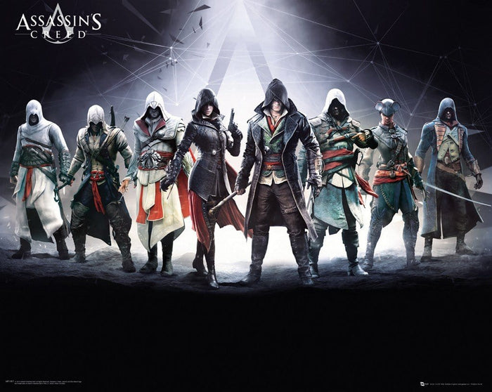 GBeye Assassins Creed Characters Poster 50x40cm
