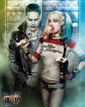 GBeye Suicide Squad Joker And Harley Quinn Poster 40x50cm | Yourdecoration.be