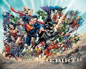 GBeye DC Universe Rebirth Poster 50x40cm | Yourdecoration.be