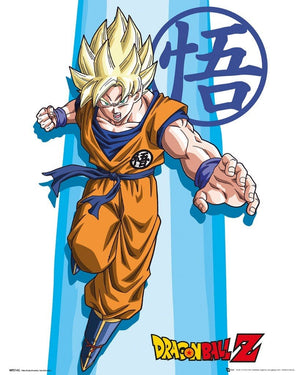GBeye Dragon Ball Z SS Goku Poster 40x50cm | Yourdecoration.be
