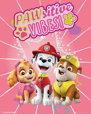 GBeye Paw Patrol Pawsitive Vibes Poster 40x50cm | Yourdecoration.be
