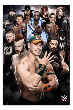 GBeye WWE Superstars 2016 Poster 61x91,5cm | Yourdecoration.nl