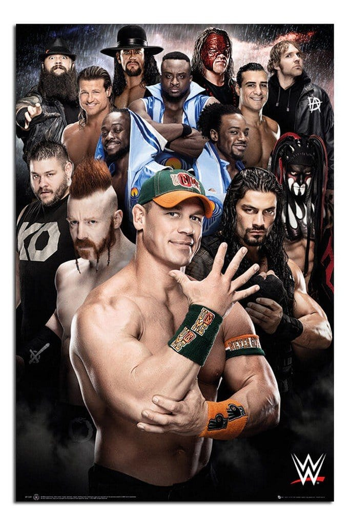 GBeye WWE Superstars 2016 Poster 61x91,5cm