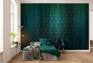 Komar Mystique Vert Vlies Fotobehang 400x280cm 8-banen Sfeer | Yourdecoration.be