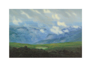 Caspar David Friedrich - Ziehende Wolken Kunstdruk 40x30cm | Yourdecoration.be