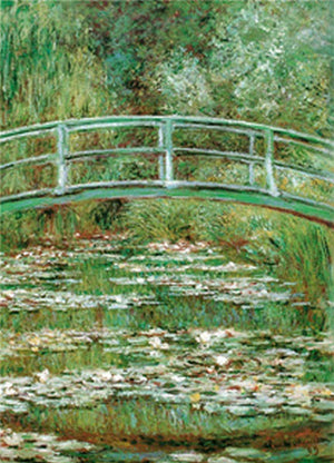 Claude Monet - Lo stagno delle ninfee Kunstdruk 60x80cm | Yourdecoration.be