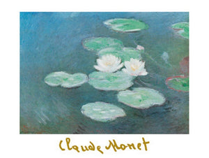 Claude Monet - Ninfee nella luce Kunstdruk 80x60cm | Yourdecoration.be