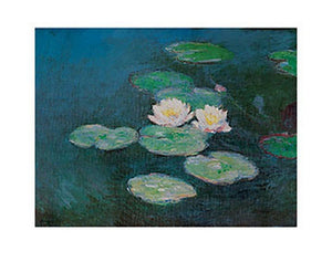 Claude Monet - Seerosen Kunstdruk 71x56cm | Yourdecoration.be