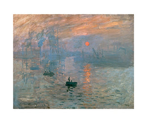 Claude Monet - Impression (Sonnenaufgang) Kunstdruk 80x60cm | Yourdecoration.be