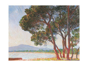 Claude Monet - La plage de Juan-Les-Pins Kunstdruk 80x60cm | Yourdecoration.be