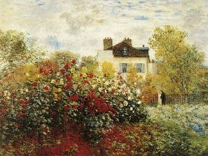 Claude Monet - The Artist's Garden Kunstdruk 80x60cm | Yourdecoration.be