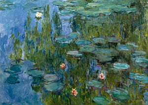 Claude Monet - Seerosen Kunstdruk 29.7x21cm | Yourdecoration.be