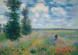 Claude Monet - Les Coquelicots Kunstdruk 29.7x21cm | Yourdecoration.be