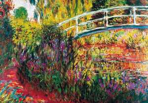 Claude Monet - Le Pont Japonais Kunstdruk 100x70cm | Yourdecoration.be