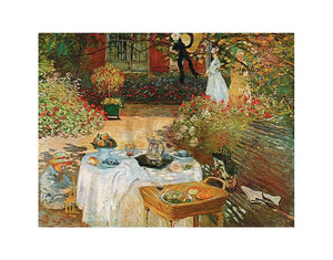 Claude Monet - Le dèjeuner Kunstdruk 70x50cm | Yourdecoration.be
