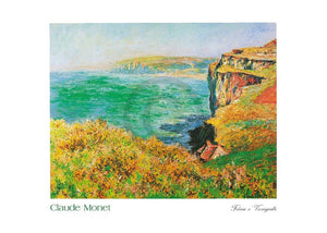 Claude Monet - Falaise à Varengeville Kunstdruk 70x50cm | Yourdecoration.be