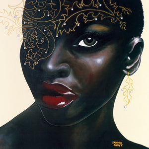 Sandra Knuyt - Ebony Kunstdruk 70x70cm | Yourdecoration.be