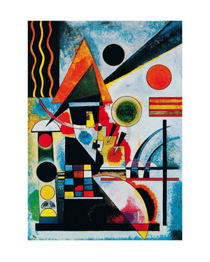 Wassily Kandinsky - Balancement, 1925 Kunstdruk 40x50cm | Yourdecoration.be