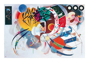 Wassily Kandinsky - Courbe dominante, 1936 Kunstdruk 50x40cm | Yourdecoration.be