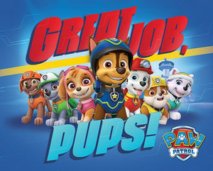 Pyramid Paw Patrol Great Job Pups Poster 50x40cm | Yourdecoration.be