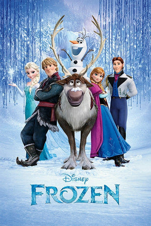Pyramid Frozen Cast Poster 61x91,5cm | Yourdecoration.be