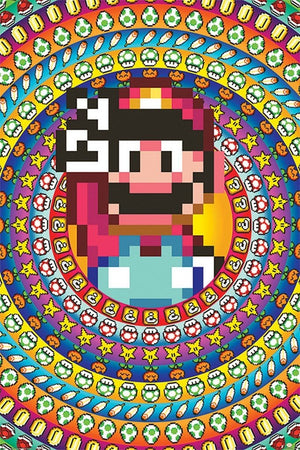 Pyramid Super Mario Power Ups Poster 61x91,5cm | Yourdecoration.be