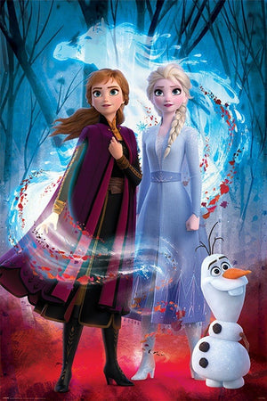 Pyramid Frozen 2 Guided Spirit Poster 61x91,5cm | Yourdecoration.be