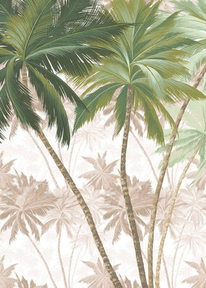 Komar Palmera Vlies Fotobehang 200x280cm 2-banen | Yourdecoration.be