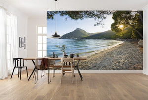 Komar Lonely Paradise Vlies Fotobehang 450x280cm 9-banen Sfeer | Yourdecoration.be