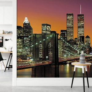 Wizard+Genius New York City Fotobehang 366x254cm 8-banen Sfeer | Yourdecoration.be