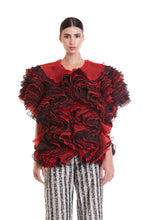 Load image into Gallery viewer, Red and Black Sheer Luxe Cloud