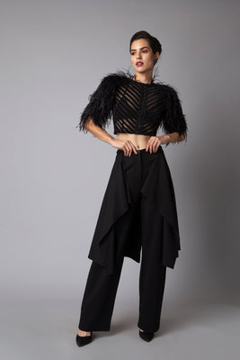 Sheer Luxe Pleats