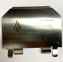 "Load image into Gallery viewer, 4"" Stainless Steel Oilguard"