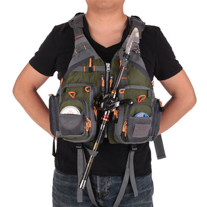 32-in-1 VestPack™ | Fishing Vest & Backpack