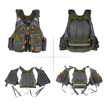 Load image into Gallery viewer, 32-in-1 VestPack™ | Fishing Vest & Backpack