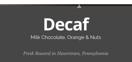 Decaffeinated FTO